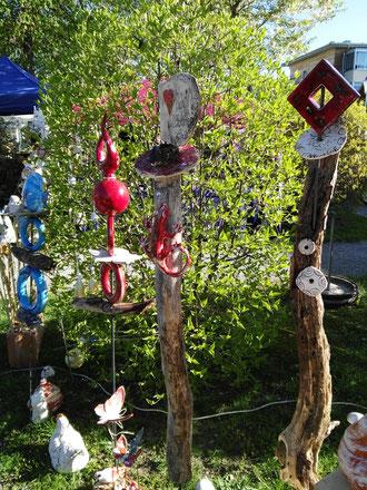 Gartenkeramik petra endisch kunst keramik und glasdesign art4you - Keramik katzen fur garten ...