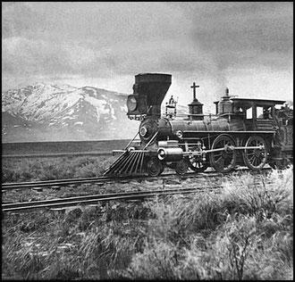 La Locomotive et le chasse-vache (cliquer sur l'image)