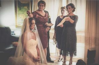"""Rituale tipico di """"Ortueri"""" per la benedizione della sposa"""