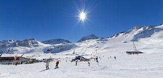 Skiparadis am Stubaier Gletscher