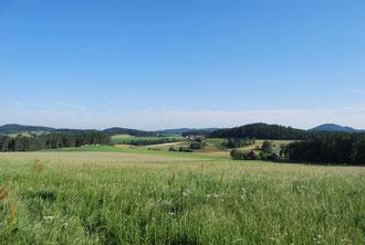 Die schönste Landschaft, soweit das Auge reicht.....