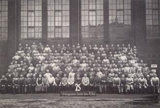 Werkzeugmacherei DWK 1938 (Foto: Deutsche Werke Kiel)