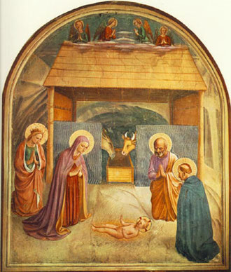 BEATO ANGELICO - Natività