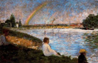 GEORGE PIERRE SEURAT - Arcobaleno