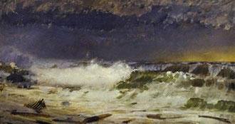 GIUSEPPE DE NITTIS - Mare in burrasca