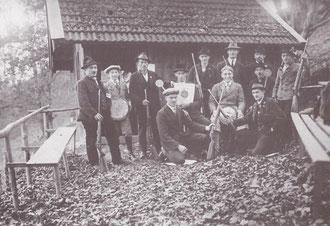 Die Kleinkaliberschützen anno 1930