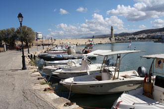 Fischereihafen von Rethymnon