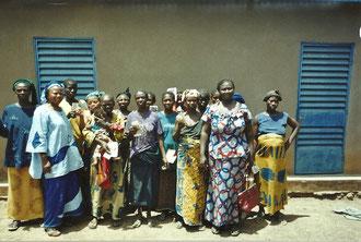 Les femmes de l'association