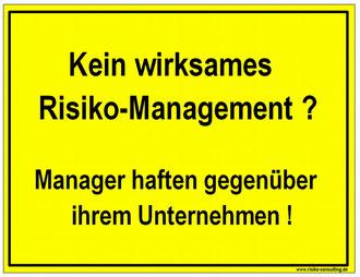 Risiko-Consulting: Managerhaftung trotz D&O Versicherung im Mittelstand