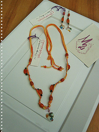 Orange Candies parure - 22,00 Euro