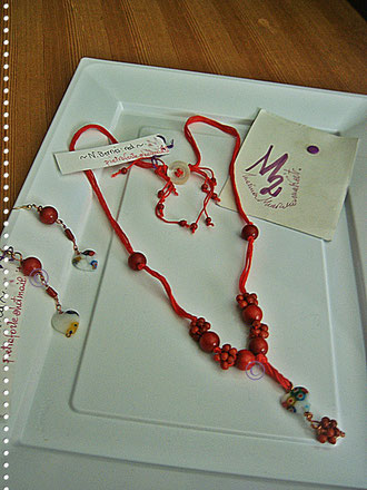 Red berries parure - 22,00 Euro