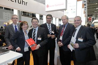 Peter Schnepper, Sabine Wissmann, Hermann Hirschfelder, Thomas Westphal, Reiner Goppold und Klaus Müller (v.l.)