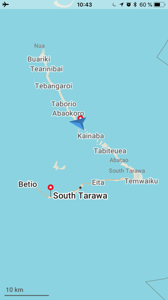 Das Pazifik Atoll Kiribati - wolfgang-biebls Mein Reisetagebuch!