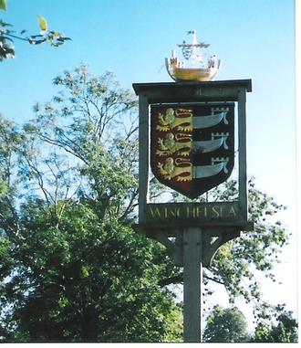 Cinqueportの標識