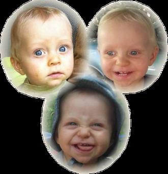 Les enfants dont les visages ne sont pas floutés bénéficient d'une autorisation écrite et signée par leurs parents.