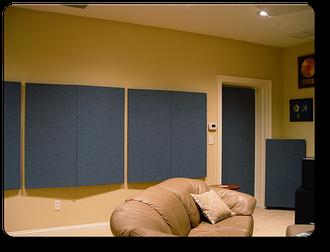 Комната для прослушивания музыки с комплектом  MSR Dimension4™ Concerto