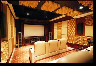 Комната под кинотеатр с комплектом Dimension4™ Symphony