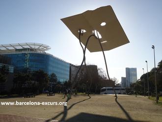 Уличная скульптура Барселоны, гиды в Барселоне, экскурсии в Барселоне