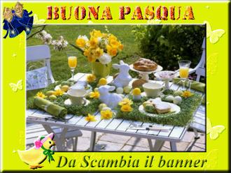 Buona Pasqua a tutti! da Scambia il banner!