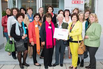 Die Frauen-Delegation aus dem Kremser Bezirk. Foto: zVg