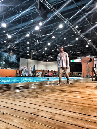 Wakeboard Show in Halle 1