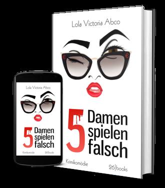 """Cover """"5 Damen spielen falsch"""""""