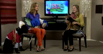 On ABC's The Pet Show with Dr. Katy Nelson.