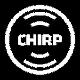 2D CHIRP-Bild eines Fischschwarms