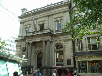 Former Midland Bank HQ, now Waterstones book shop