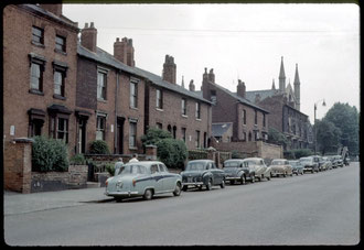 Camp Hill in the 1960s. Photograph by Phyllis Nicklin - See Acknowledgements Keith Berry.