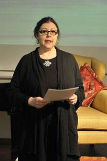Inge-Margareta Brenner sprach über die Literatur Tibets