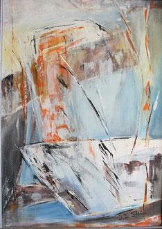 Auferstehung, Acryl auf Leinwand, 70 x 50cm