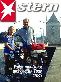 Mit Eric auf Radtour 1983, 84 oder 85