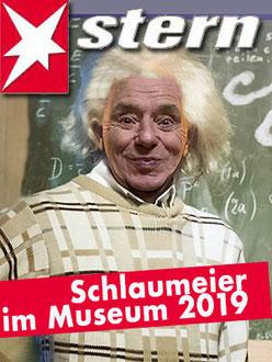 Rainer als Einstein-Imitat /Experimenta FDS