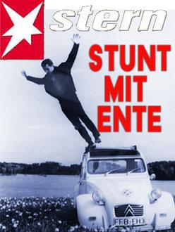 Stunt mit Ente