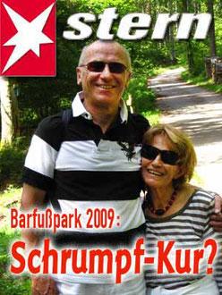 Barfußpark Hallwangen 2009