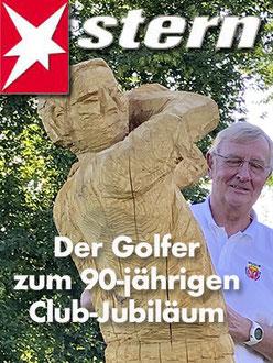 Der Golfer zum 90-jährigen