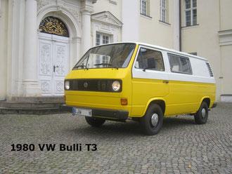"1980 VW BULLI T3 ""SUNNY"""