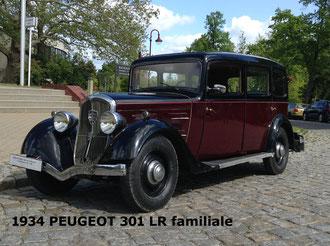 1934 PEUGEOT 301 LR familiale