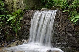 Ein Wasserfall im Zillertal
