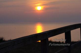 Sonnenuntergang an der Ostsee.