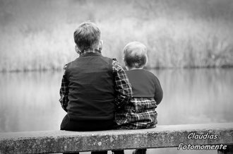 Und noch Fotos vom gleichen Tag....Bruder und Schwester so schön am See:)