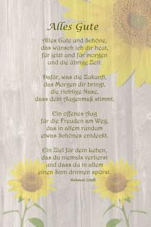 "Alles Gute ""Sonnenblumen"""