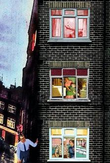 """Fun House""      2009      digital collage"