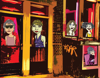 """""""Red Light District"""" #1"""