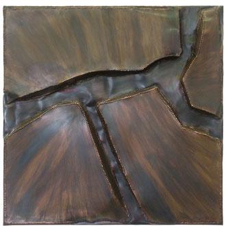 Landschaft_II 2003, 90 x 90cm