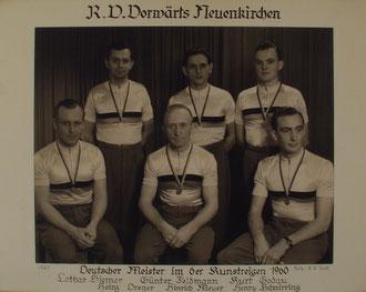 6er Kunstradfahren Männer in Bonn