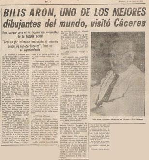 Hoy Espagne 25 jullet 1969