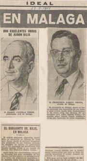 Ideal de Malaga,Espagne  23 février 1963