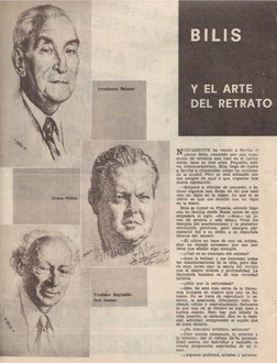ABC sevilla page1, Espagne 7 avril 1970